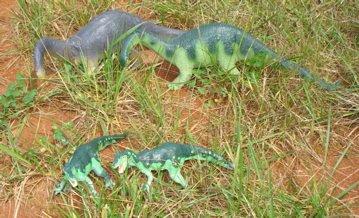 Carnegie Allosaurs Dinosaur Toys