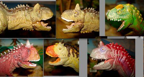 Dinosaur Toys, Carnegie, Schleich, Papo, Carnotaurus