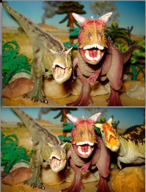Dinosaur Toys, Carnegie, Papo, Schleich, Carnotaurus