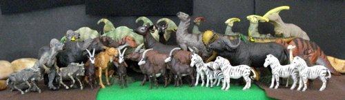 Contemporary, Britains,  Dinosaur Toys