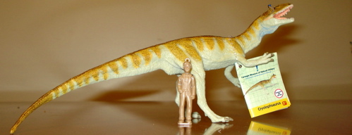 Carnegie Cryolophosaurus Dinosaur Toys
