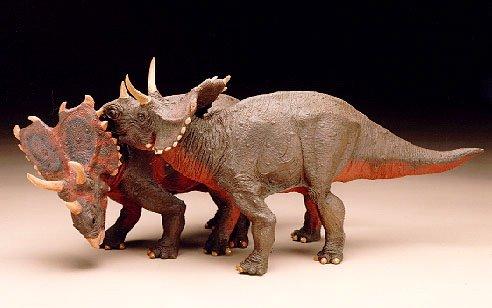 Raptorex Chasmosaurus Dinosaur Toys