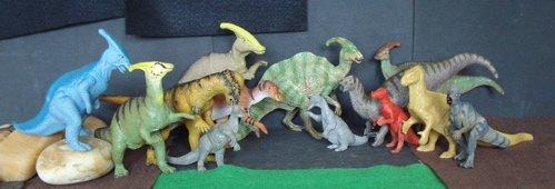 Papo, Invicta, Carnegie Collection, Marx, Dinosaur Toys