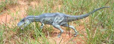X-Plus Din osaur Toys Albertosaurus painted version
