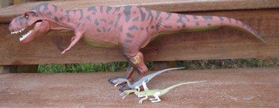 Jurassic Park Dinosaur Toys Tyrannosaurus Coelophysis