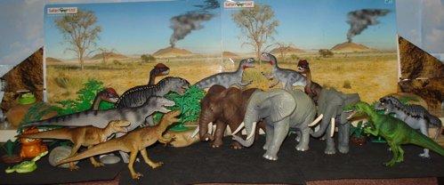 acrocanthosaurus, deltadromeus, dilophosaurus, sinraptor, Dinosaur Toys