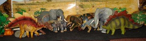 battat, triceratops, styracosaurus, stegosaurus, Dinosaur Toys