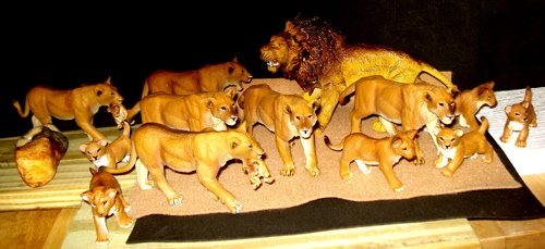 Safari Ltd, Lions, Dinosaur Toys