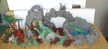 All Marx Dinosaur Toys