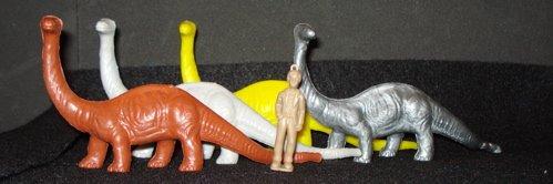 MPC Brontosaurus Dinosaur Toys