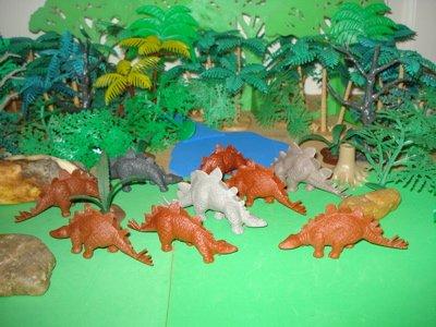 MPC Stegosaurus Dinosaur Toys