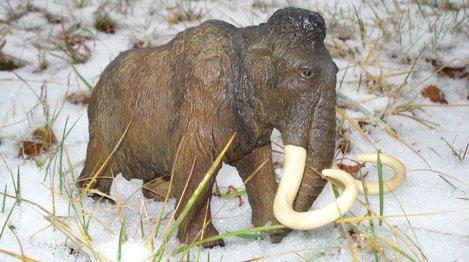 Mammoth, Papo, Dinosaur Toys