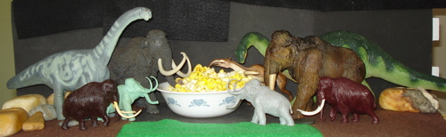 Mammoth, PAPO, MARX, Invicta, Carnegie Collection, Dinosaur Toys