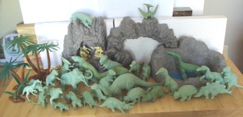 Marx toys, Dinosaur toys