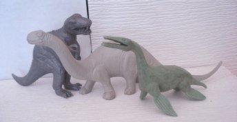 Large Mold Brontosaurus Kronosaurus Pot Belly T-Rex