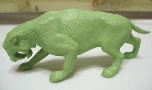 Marx Dinosaur Toys Smilodon