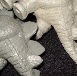 Marx Stegosaurus Dinosaur Toys
