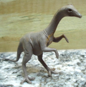 Marx Dinosaur Toys Struthiomimus