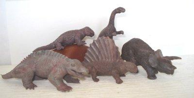 Marx Dinosaur Toys Small Mold PL-755