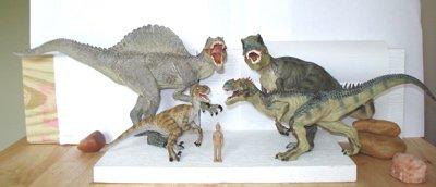 Papo Allosaurus Tyrannosaurus Dinosaur Toys