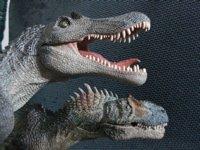 Papo Allosaurus Spinosaurus Dinosaur toys