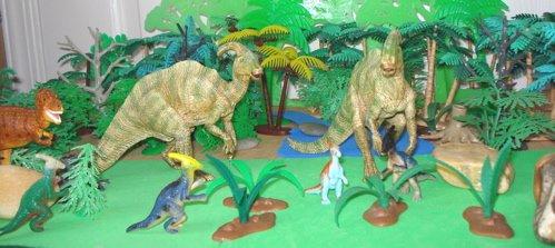 Parasaurolophus Dinosaur Toys
