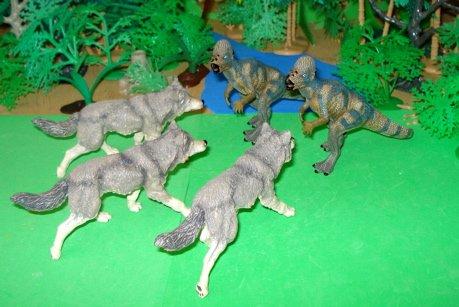 Pachycephalosaurus, papo, Dinosaur Toys