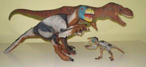 Dinosaur Toys, Bullyland, Velociraptor, Rexford