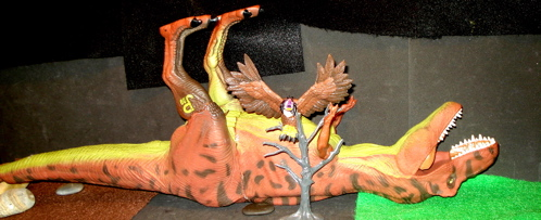 Rexford, Vulture, Dinosaur Toys
