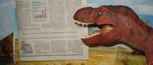 Tyrannosaurus Rexford, Rexford, Dinosaur Toys