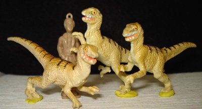 Deinonychus, Velociraptor, Dinosaur Toys