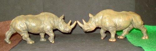Papo, Rhinoceros, Dinosaur Toys