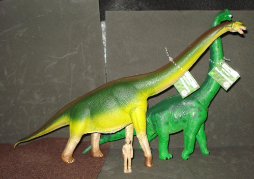 Brachiosaurus, Dinosaur toys