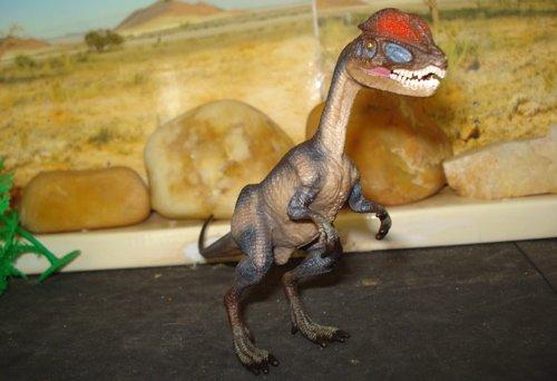 Dilophosaurus, Safari Dilophosaurus, Dinosaur Toys