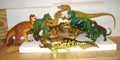 Safari Dinosaur Toys Carnivores