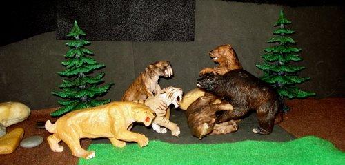 Smilodon, Safari Ltd, Carnegie, Papo, Schleich, Dinosaur Toys