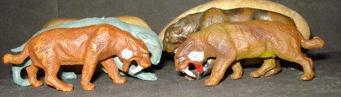 Smilodon, Inpro, Dinosaur Toys
