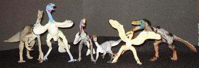 Feathered Dinosaur Toys