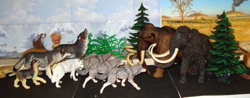 Mammoth, Papo, Carnegie Collection, Dinosaur Toys